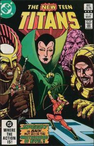 DC THE NEW TEEN TITANS (1980 Series) #29 VF/NM