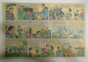 Superman Sunday Page #1041 by Wayne Boring from 10/11/1959 Half Full Page Size