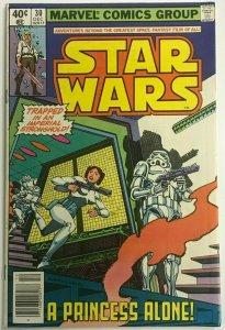 STAR WARS#30 VF 1979 MARVEL BRONZE AGE COMICS