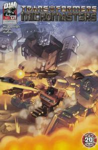 TRANSFORMERS MICROMASTERS (2004 DW)1-4,2A-4A