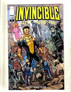 Lot Of 12 Invincible Universe Image Comic Books # 1 2 3 4 5 6 7 8 9 10 11 12 RP4