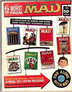 WORST FROM MAD (1958-1969) 6 W/ NO INSERT  VG-