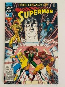 SUPERMAN: THE LEGACY OF SUPERMAN #1 (Mar 1993 | Vol 1 | Modern Age | DC) VF/NM