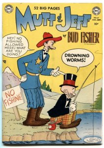 Mutt and Jeff #47 1950- BUD FISHER- Golden Age VF-