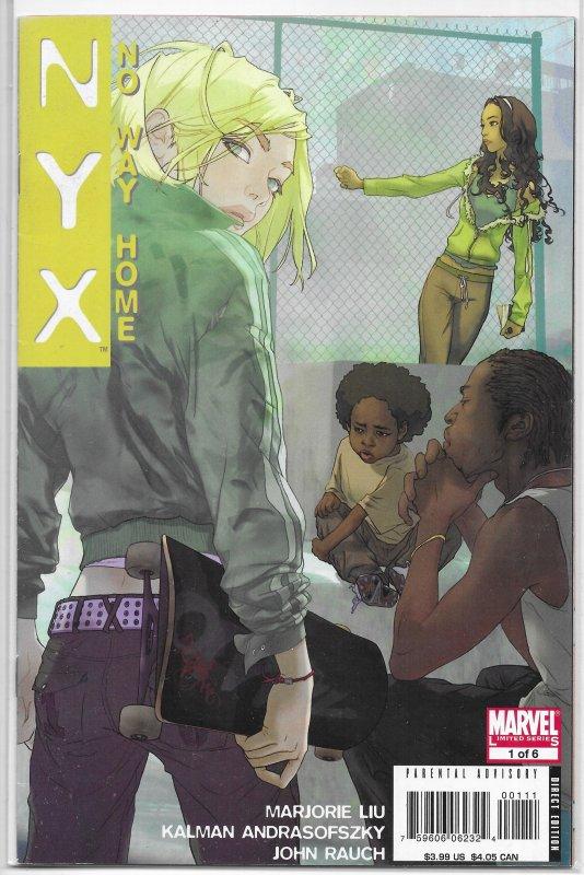 NYX  : No Way Home   #1 FN