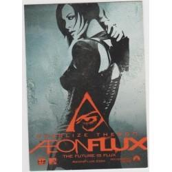 2005 AEON FLUX Movie Promo Card