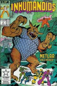 Inhumanoids, The #4 VG; Marvel Star | low grade comic - save on shipping - detai