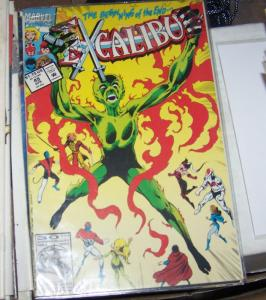 Excalibur # 49 FEB 1992, Marvel  x men PHOENIX NIGHTCRAWLER CAPTAIN BRITTAIN