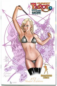 TAROT WITCH of the Black Rose #59, VF+, Limited Jim Balent, 2000, Holly, Signed