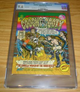 Coochy Cooty Men's Comics #1 CGC 9.6 highest graded - underground comix 1970 2nd
