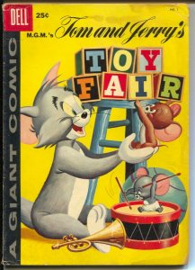 Tom and Jerry's Toy Fair #1 1953-Dell-1st issue-comics-ganes-puzzles-FR/G