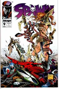 SPAWN #9 FIRST ANGELA NEAR MINT $8.00