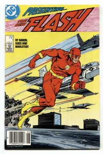 The Flash #1 Newsstand 1st Wally West title  DC Comics VF/NM