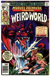 MARVEL PREMIERE #38-First Weirdworld-1977 NM