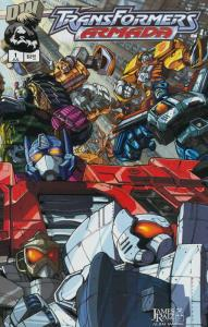 TRANSFORMERS ARMADA (2002 DW) 1-18  1st half of series!