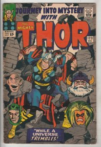 Journey into Mystery #123 (Dec-65) VG+ Affordable-Grade Thor
