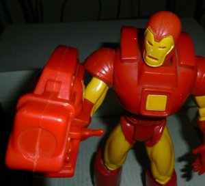Iron Man Deluxe Edition 10 Figure / Space Armor Poseable NEW 1995 ToyBiz Marvel