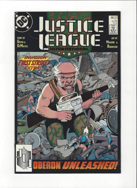 Justice League International #22 1987 DC Comics Copper Age  NM