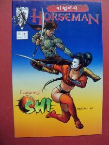 SHI #1 HORSEMAN  VF/NM OR BETTER CRUSADE COMICS