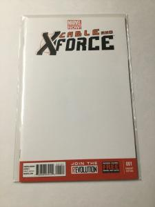 Cable And X-Force 1 Nm Near Mint Blank Variant Marvel Comics