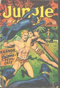 JUNGLE COMICS #83 WOMAN TIED TO TREE FICTION HOUSE 1946 VG