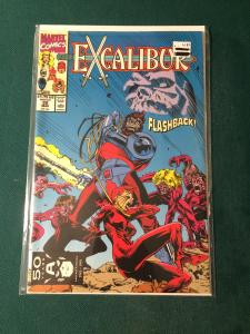 Excalibur #35 Flashback!