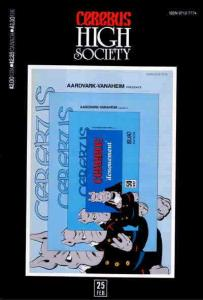 Cerebus High Society #25 FN; Aardvark-Vanaheim | save on shipping - details insi