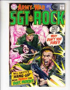 Our Army at War #221 (Jul-70) FN/VF+ Mid-High-Grade Easy Company, Sgt. Rock