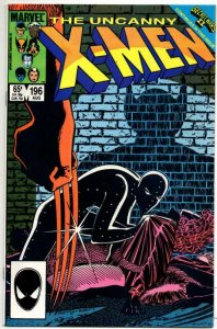X-MEN #196, VF/NM, Wolverine, Claremont, Romita, 1985, Marvel