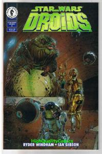STAR WARS DROID #4, NM+, C-3PO, R2-D2, Plunkett, 1995, more SW in store