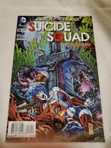 Suicide Squad 14 2nd Print Near Mint Cover by Ken Lashley