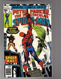 PETER PARKER 5 VERY FINE  April 1977