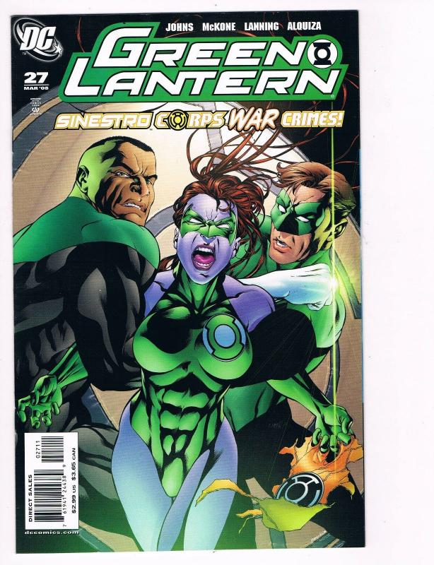 Green Lantern # 27 DC Comic Books Awesome Issue Sinestro Hal Jordan WOW!!!!! S24