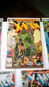 UNCANNY X-MEN EARLY 1980's LOT Includes 3-Copies of Forge's 1st Appearance #184!