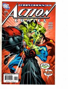 8 Action Comics DC Comic Books # 853 854 855 856 857 858 859 860 Superman J221
