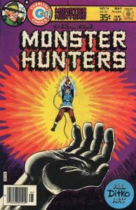 Monster Hunters #14 FN; Charlton | save on shipping - details inside