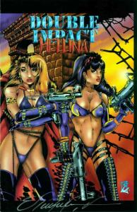 Double Impact/Hellina #1 VF/NM; High Impact | save on shipping - details inside