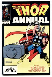 THOR ANNUAL #11-First appearance of Eitri-1983-Marvel-NM-