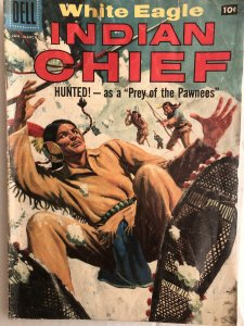 Indian Chief #29,VG, painted covers