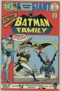 The Batman Family #1 (1975) Fine+