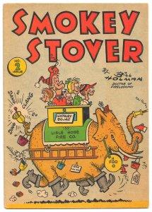 Screwball Fireman 'SMOKEY STOVER' 1954 Promo Comic #2 for Natl Fire Protctn Ass.