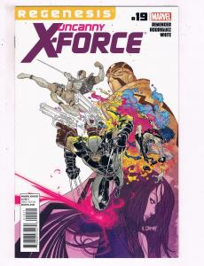 Uncanny X-Force # 19 NM 1st Print Marvel Comic Book Wolverine Deadpool X-Men BN4