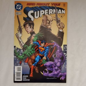 Superman 113 Near Mint  Art by Joe Rubinstein