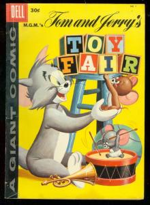 MGM's TOM AND JERRY'S TOY FAIR #1 '58-COVER VARIANT LOT VG