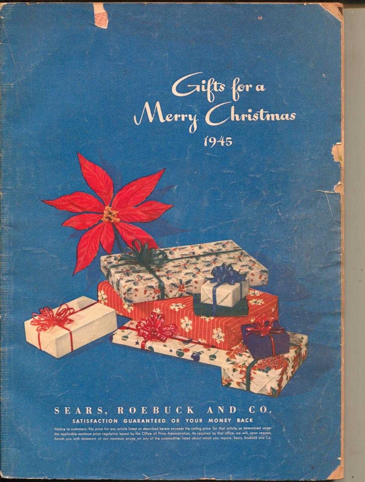 Sears Christmas Catalog.Sears Christmas Catalog 1945 Toys Fashions Dolls Decorations