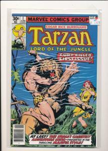 Marvel #1 TARZAN Lord of the Jungle VF (SIC029)