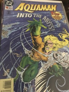 DC Aquaman #1 Mint Into The Abyss