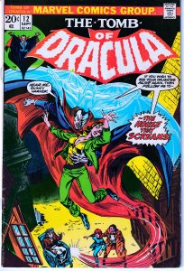 Tomb of Dracula(vol. 1) # 12  Blade The Vampire Hunter