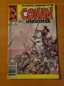 Official Handbook of the Conan Universe #1 Newsstand ~ NEAR MINT NM ~ 1986