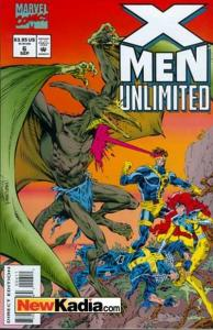 X-Men Unlimited (1993 series) #6, NM- (Stock photo)